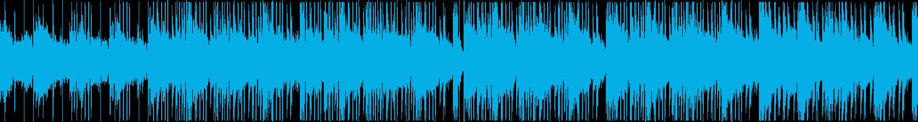 優しく、残響が心地良いLo-fi系BGMの再生済みの波形