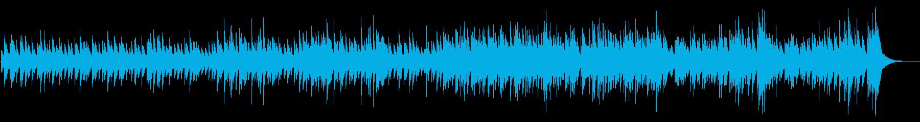 ハンドパンを使った軽快で清涼感のある音楽の再生済みの波形