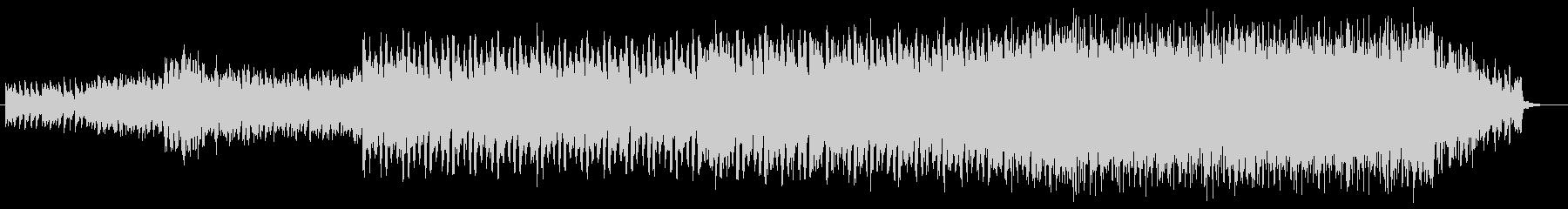 ポップでセンチメンタルなピアノテクノの未再生の波形
