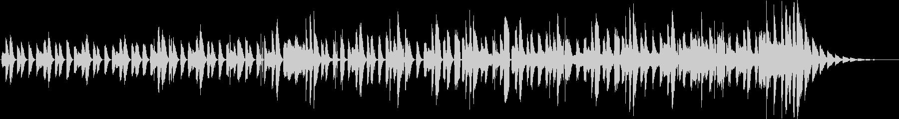 不思議で明るいピアノインスト(短縮版)の未再生の波形