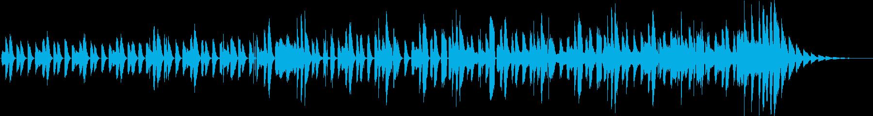 不思議で明るいピアノインスト(短縮版)の再生済みの波形