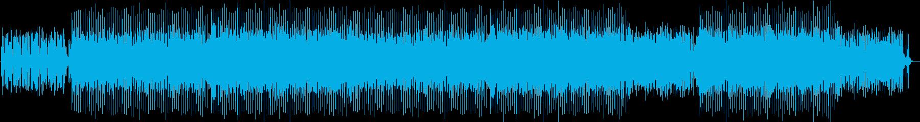 おしゃれ、爽やかで軽快なディスコサウンドの再生済みの波形