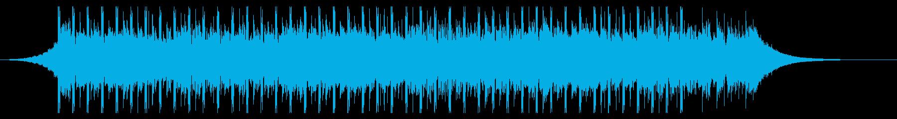 志望(30秒)の再生済みの波形