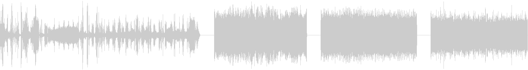 AM RADIO、SCAN、NOI...の未再生の波形