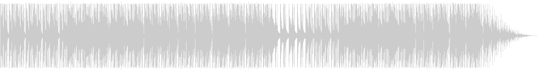 寂しい/ピアノ/R&B_No489_1の未再生の波形