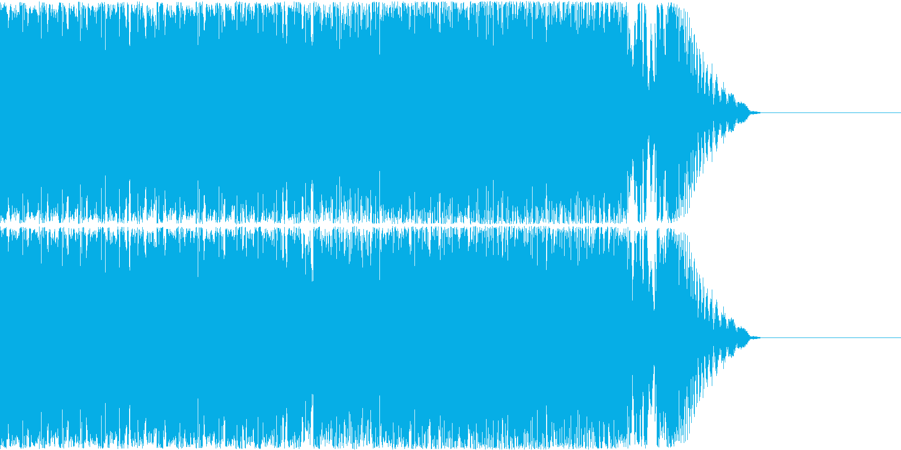 【ピコピコ】コミカルなゲームのBGM等の再生済みの波形