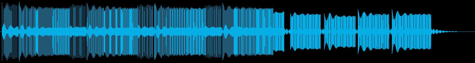 敵に遭遇した時の緊張した音 8bitの再生済みの波形