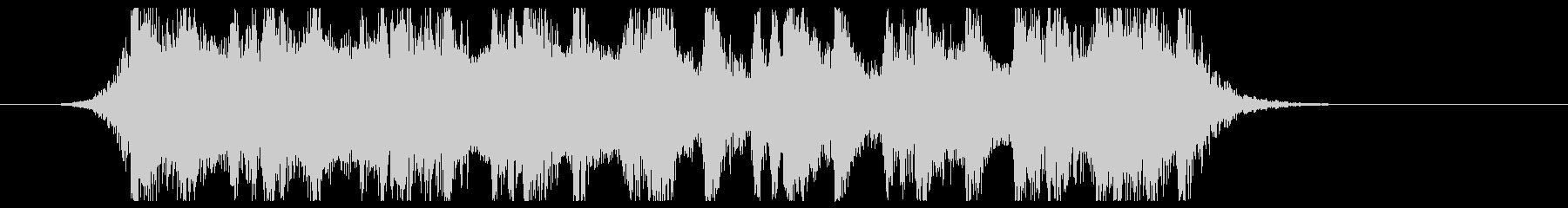古代風ダークファンタジー風サウンドロゴの未再生の波形