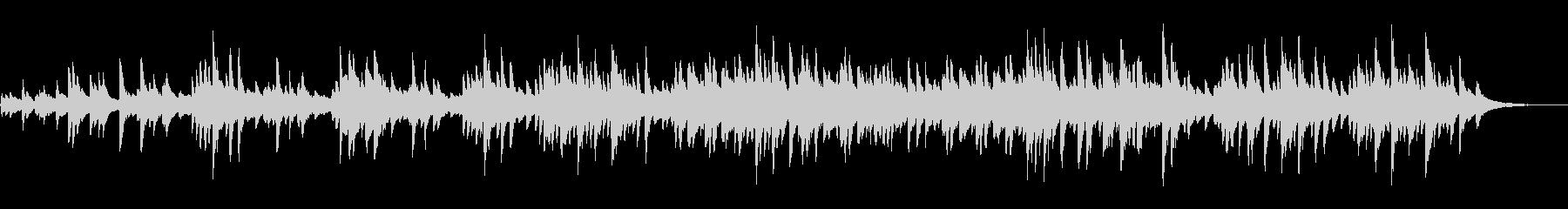 和食動画のBGMに!あの曲の琴カバーの未再生の波形