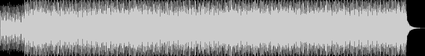 ミニマル系テクノBGMの未再生の波形