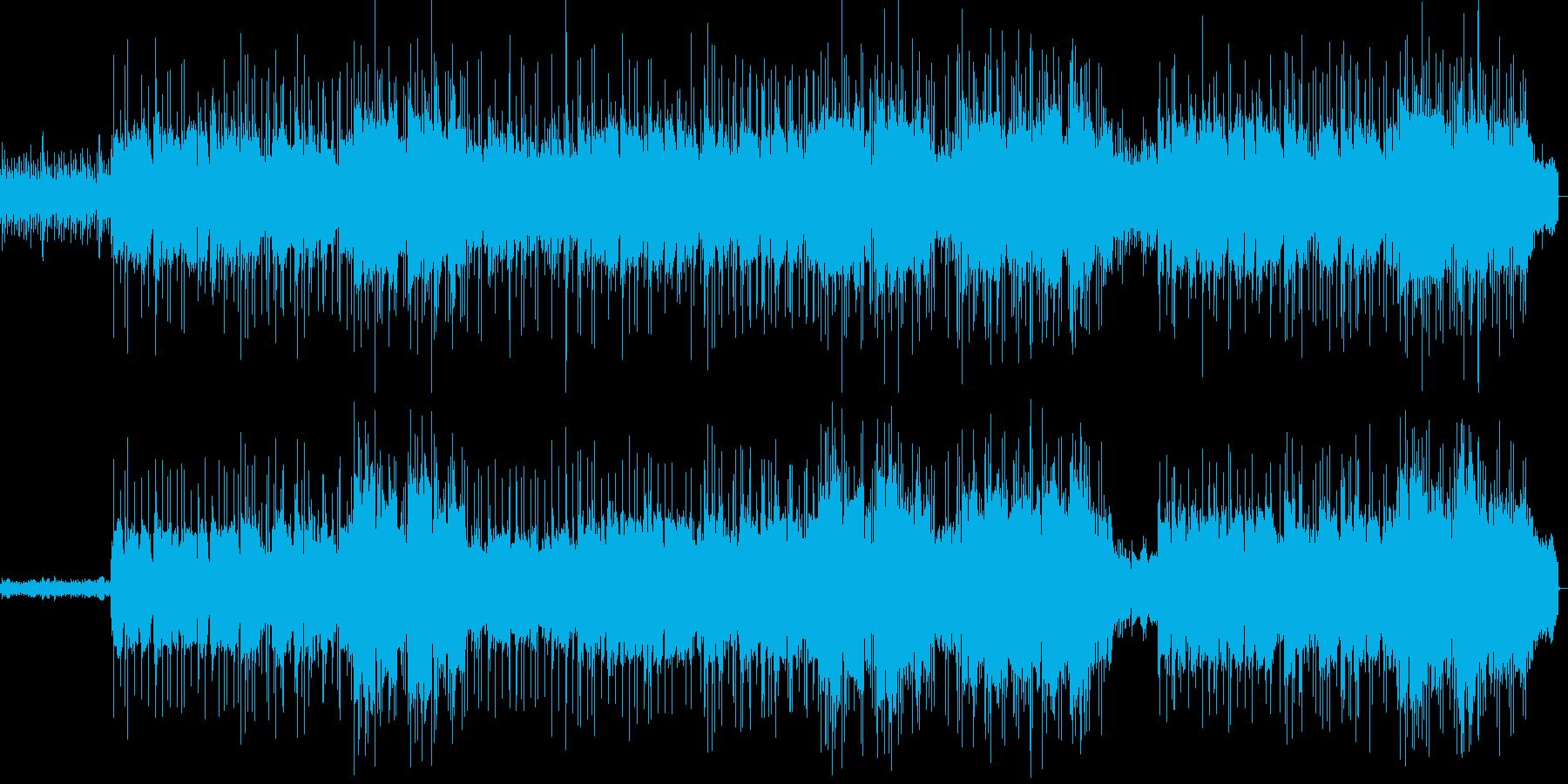 綺麗な音色で落ち着くメロディーの再生済みの波形