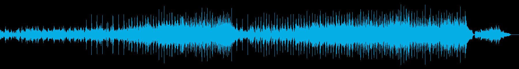 ピアノを使った切ない感動的なバラードの再生済みの波形