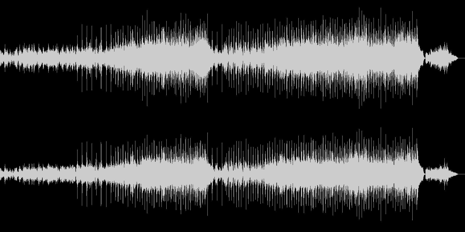 ピアノを使った切ない感動的なバラードの未再生の波形