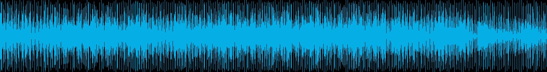 リズム良く楽しげでユニークなインストですの再生済みの波形