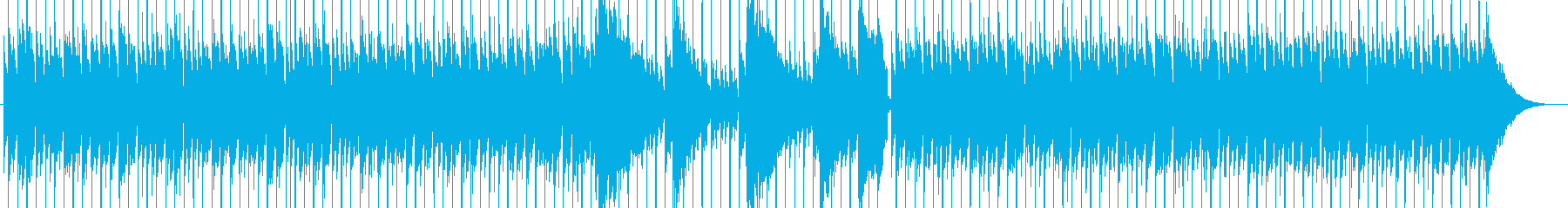 ショートムービー ほのぼの アコギの再生済みの波形