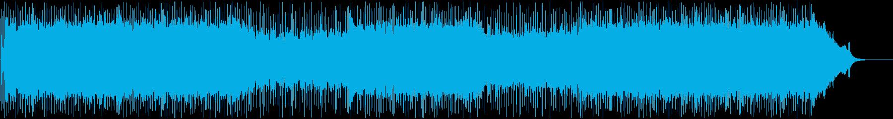 シンプルで前向きなポップ・ロックの再生済みの波形