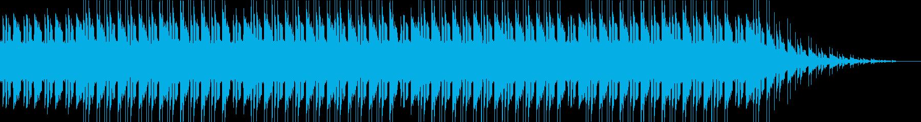不穏な空気のトラップ・ヒップホップの再生済みの波形