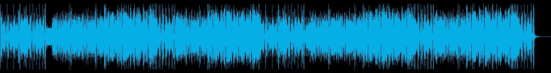 クールでポップなスカインスト曲の再生済みの波形
