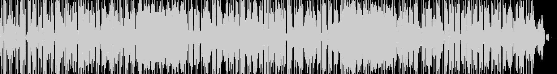 琴メロディによるファンクの未再生の波形