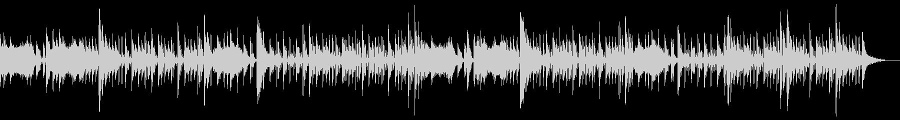 LUNARTICパルステクノポップの未再生の波形