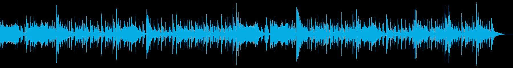 LUNARTICパルステクノポップの再生済みの波形