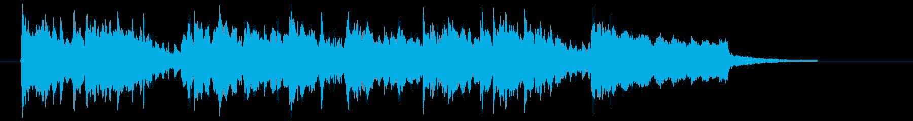 軽快で可憐なメルヘンポップジングルの再生済みの波形
