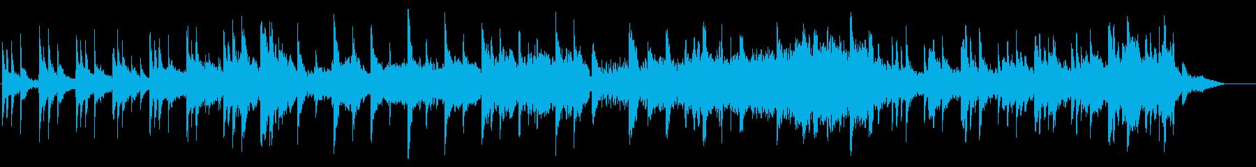 Deep Blue KURAGEの再生済みの波形