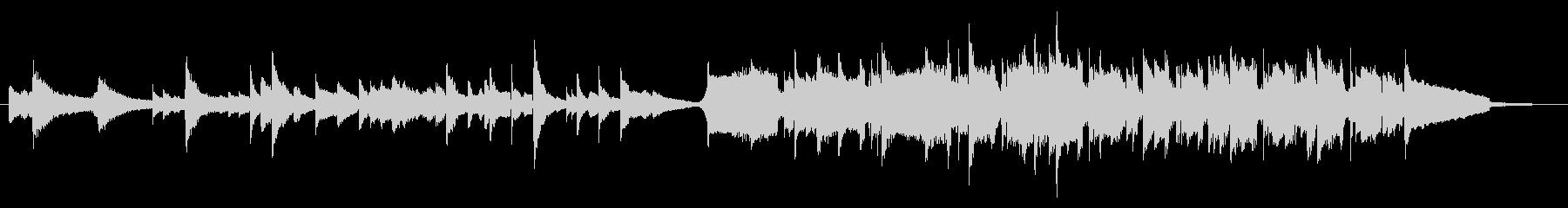 ピアノとハンドパンで奏でる水の底奥深くの未再生の波形
