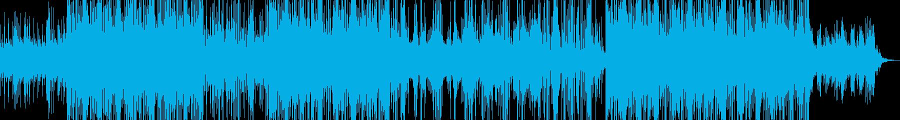 爽快でクールなメロディックポップスの再生済みの波形