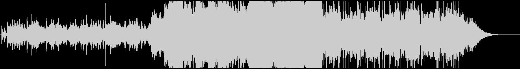 しっとり癒しのピアノ・エレピ・バイオリンの未再生の波形