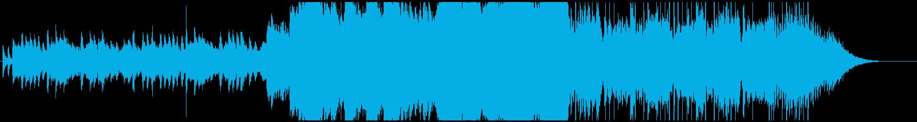 しっとり癒しのピアノ・エレピ・バイオリンの再生済みの波形