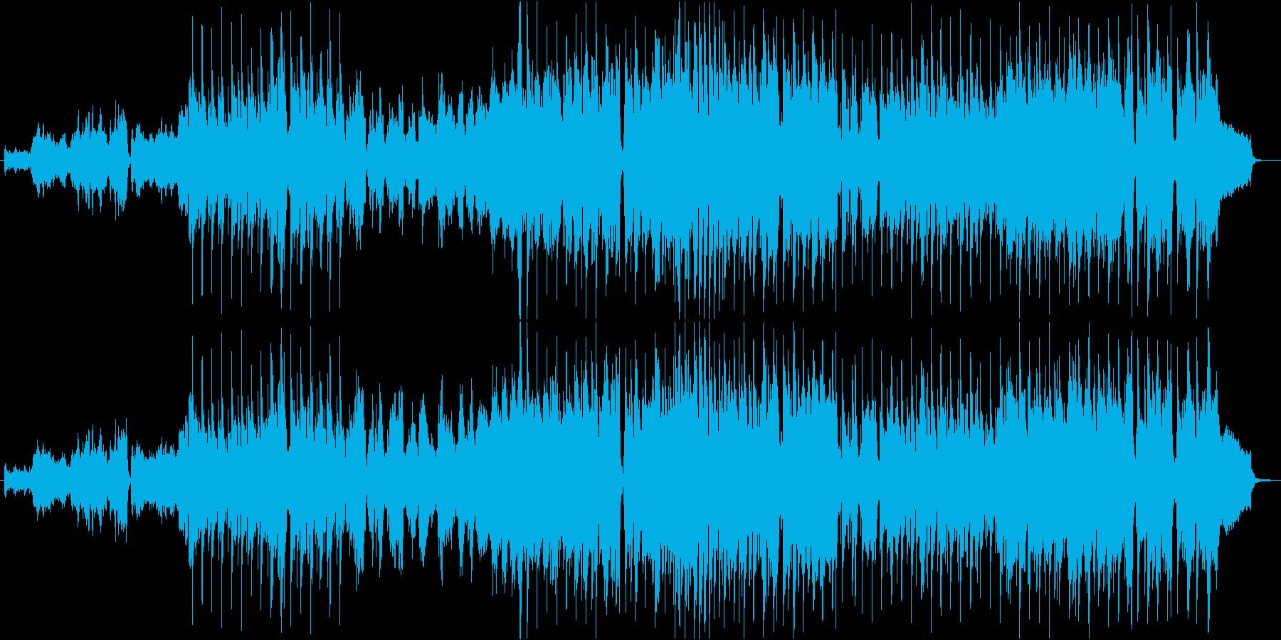 春爛漫なアイリッシュを生ヴァイオリンでの再生済みの波形