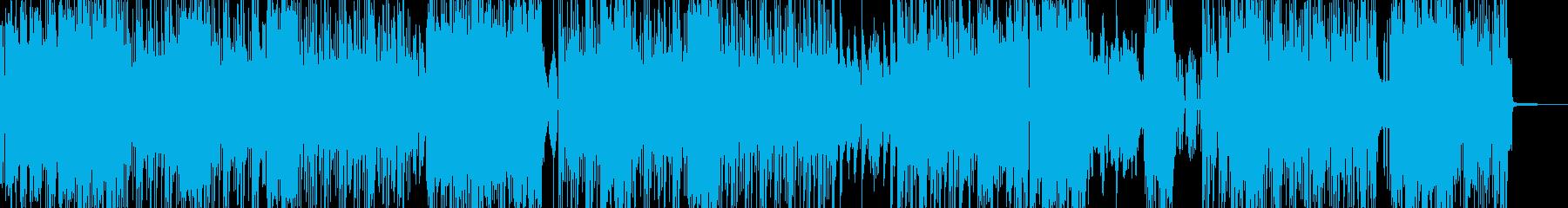 高揚感・ギャグ・バラエティポップ Aの再生済みの波形