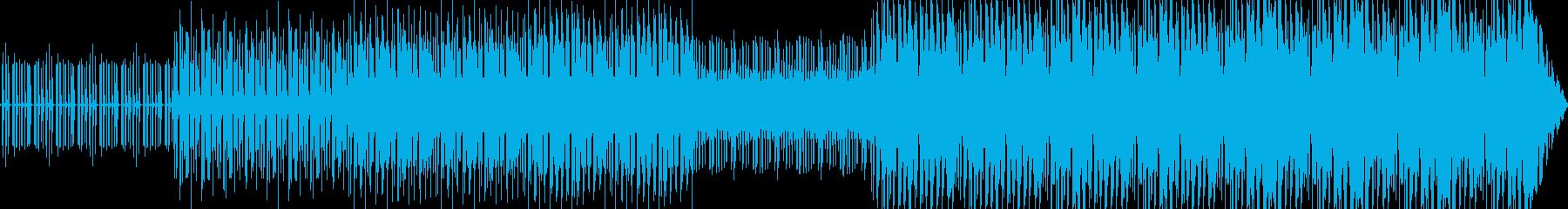 ダンス-ハウス。イントロ。の再生済みの波形