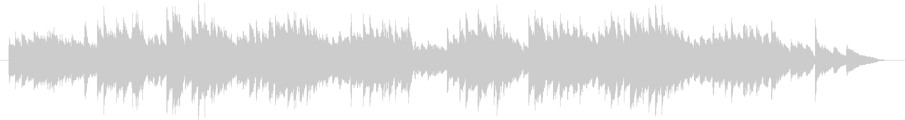 English folk song simple piano fast's unreproduced waveform