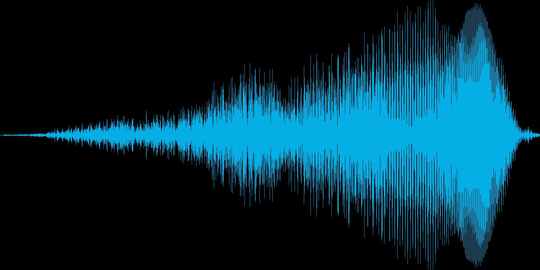 しょ!の再生済みの波形