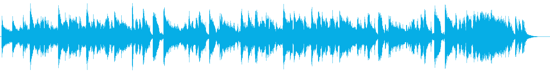 ブルーベリーをテーマにした楽曲の再生済みの波形
