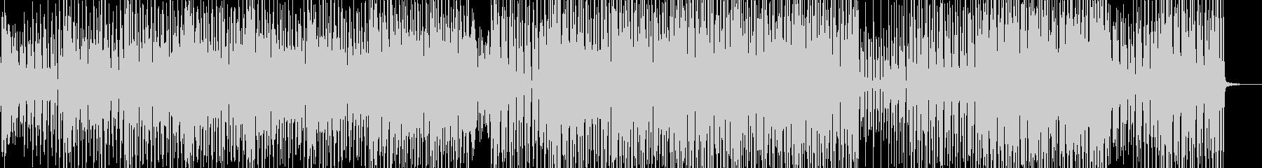 野蛮なリズムとメロディ・クラブテクノ Bの未再生の波形
