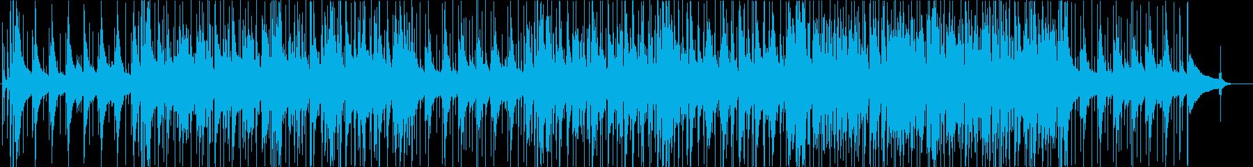 和風のちょっとおしゃれなJAZZ 三味線の再生済みの波形