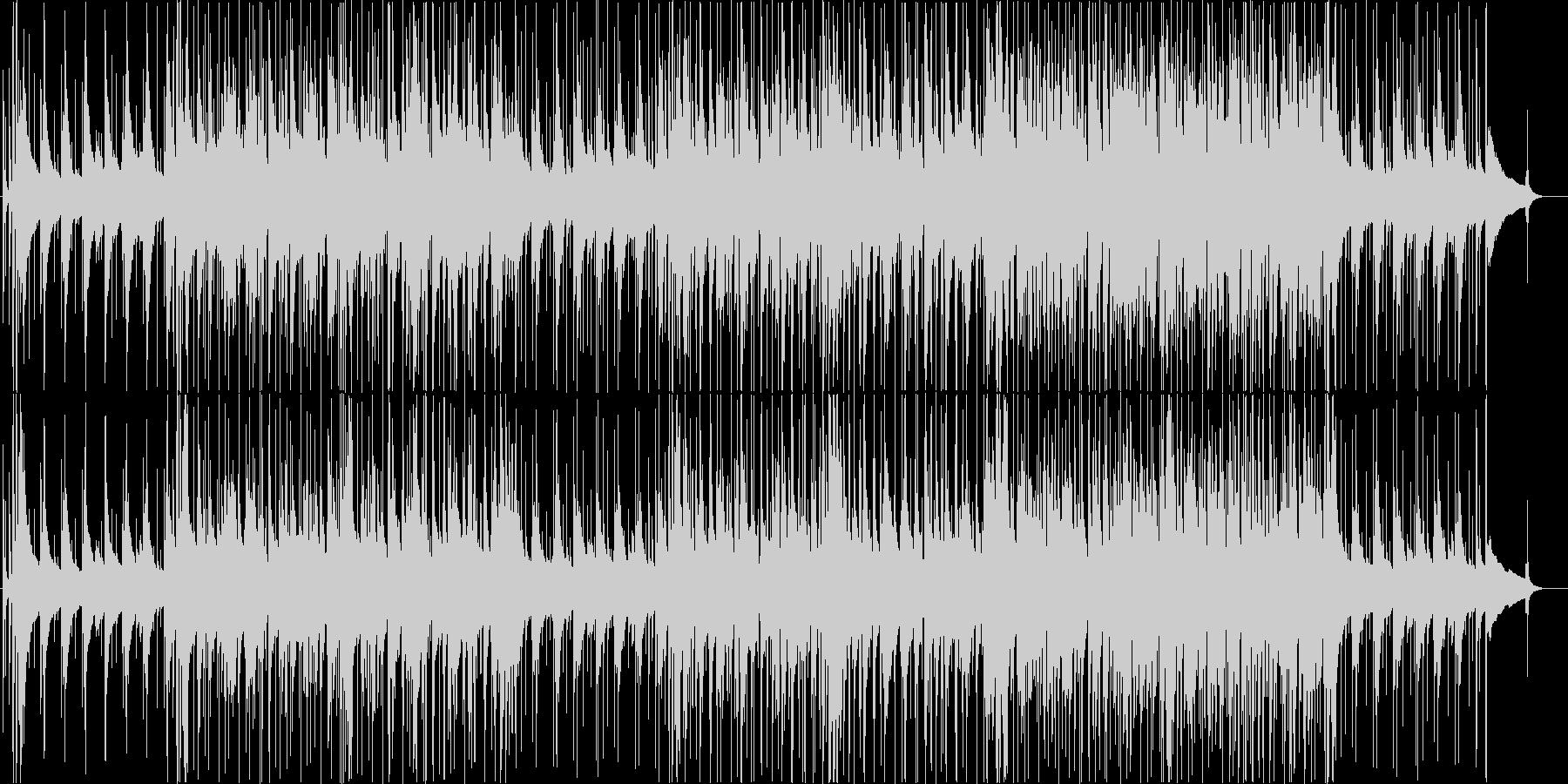 おしゃれな和風ジャズ 箏&ピアノの未再生の波形