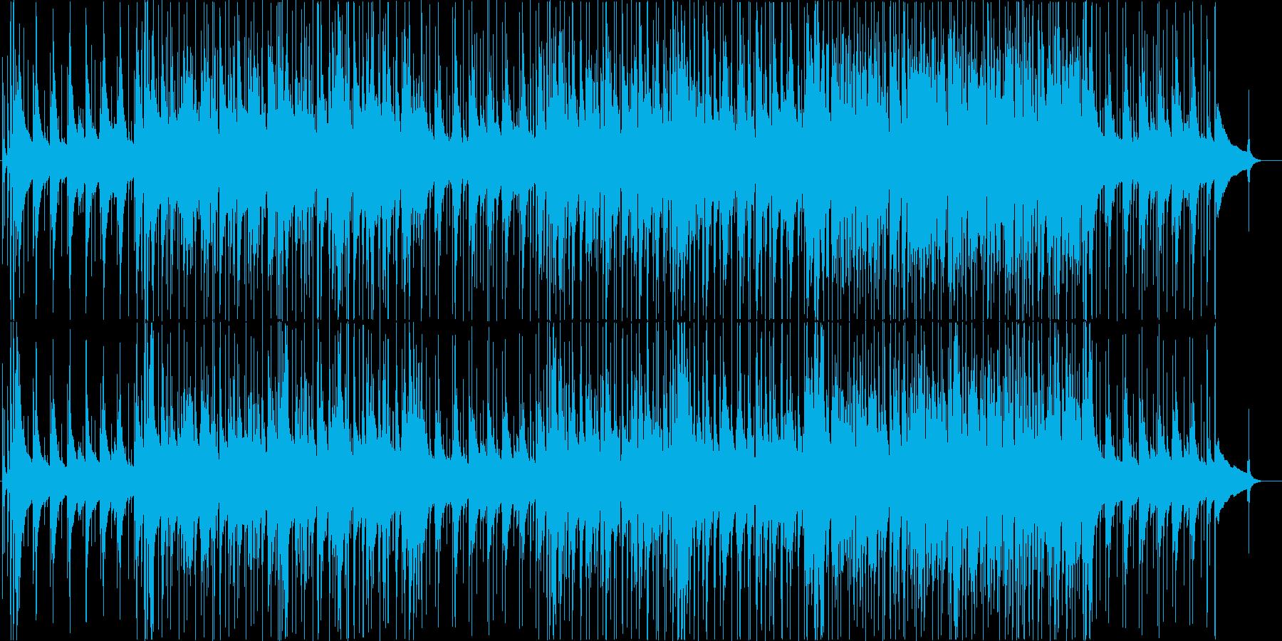 おしゃれな和風ジャズ 箏&ピアノの再生済みの波形