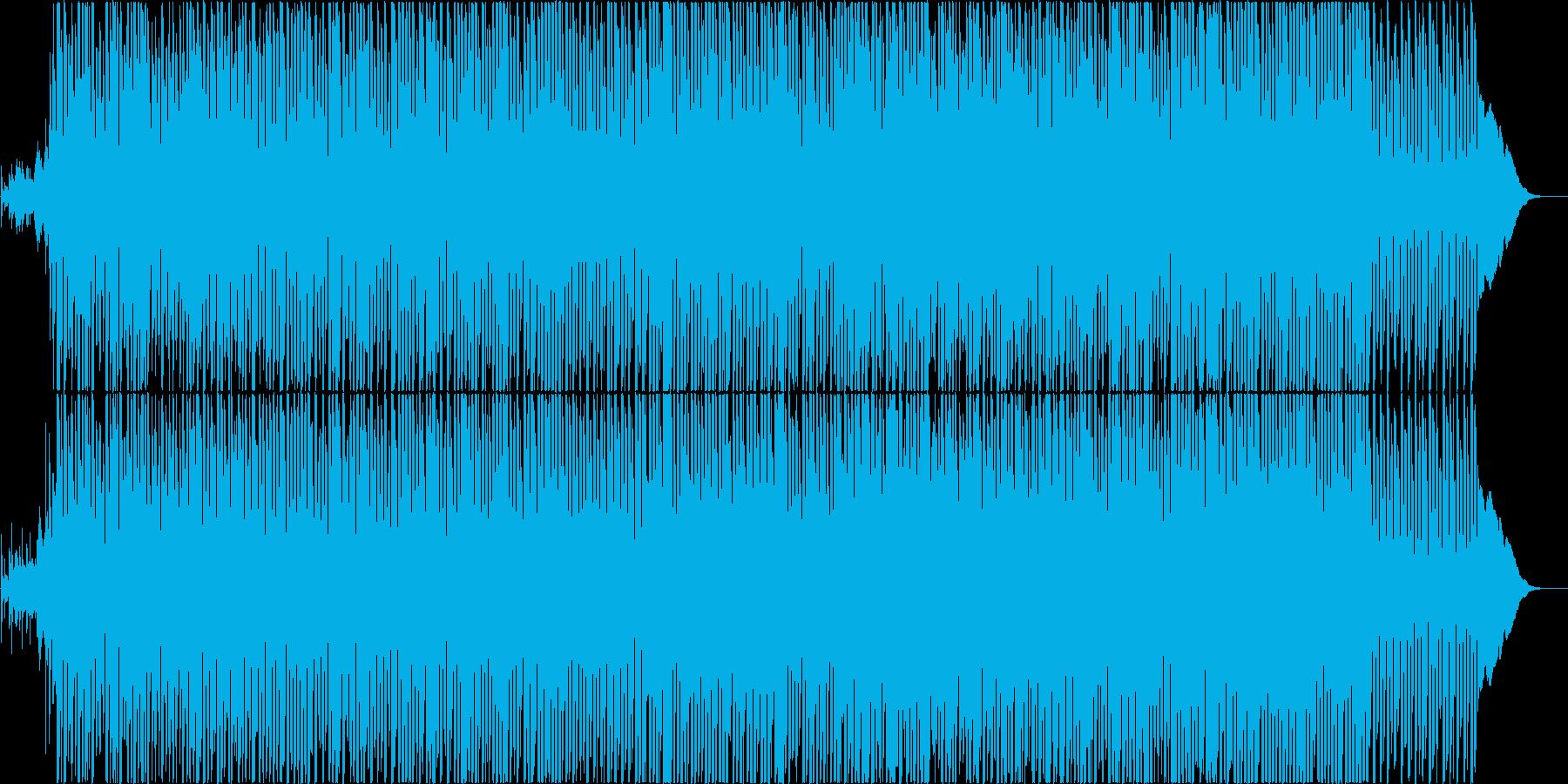 懐かしい未来センチメンタルなテクノポップの再生済みの波形