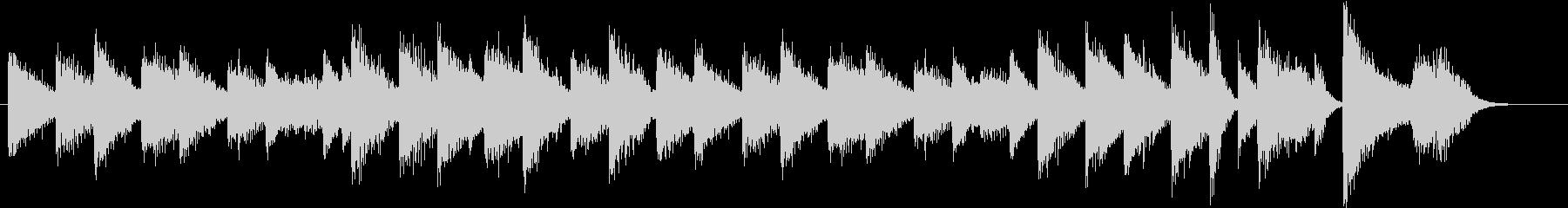「花のワルツ」クラシックピアノジングルEの未再生の波形