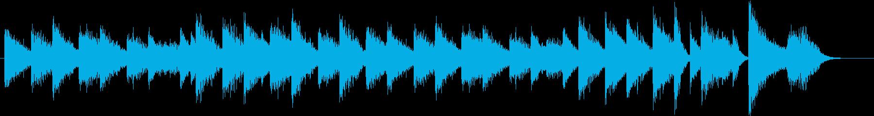 「花のワルツ」クラシックピアノジングルEの再生済みの波形