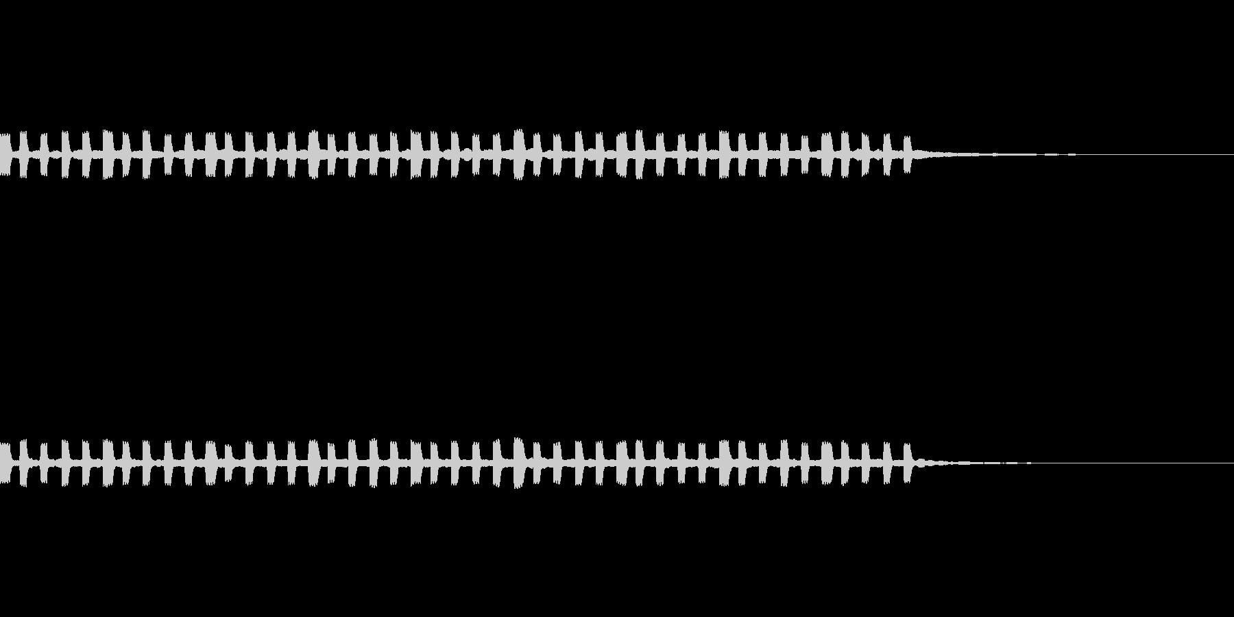 グラフ 折れ線グラフ の未再生の波形