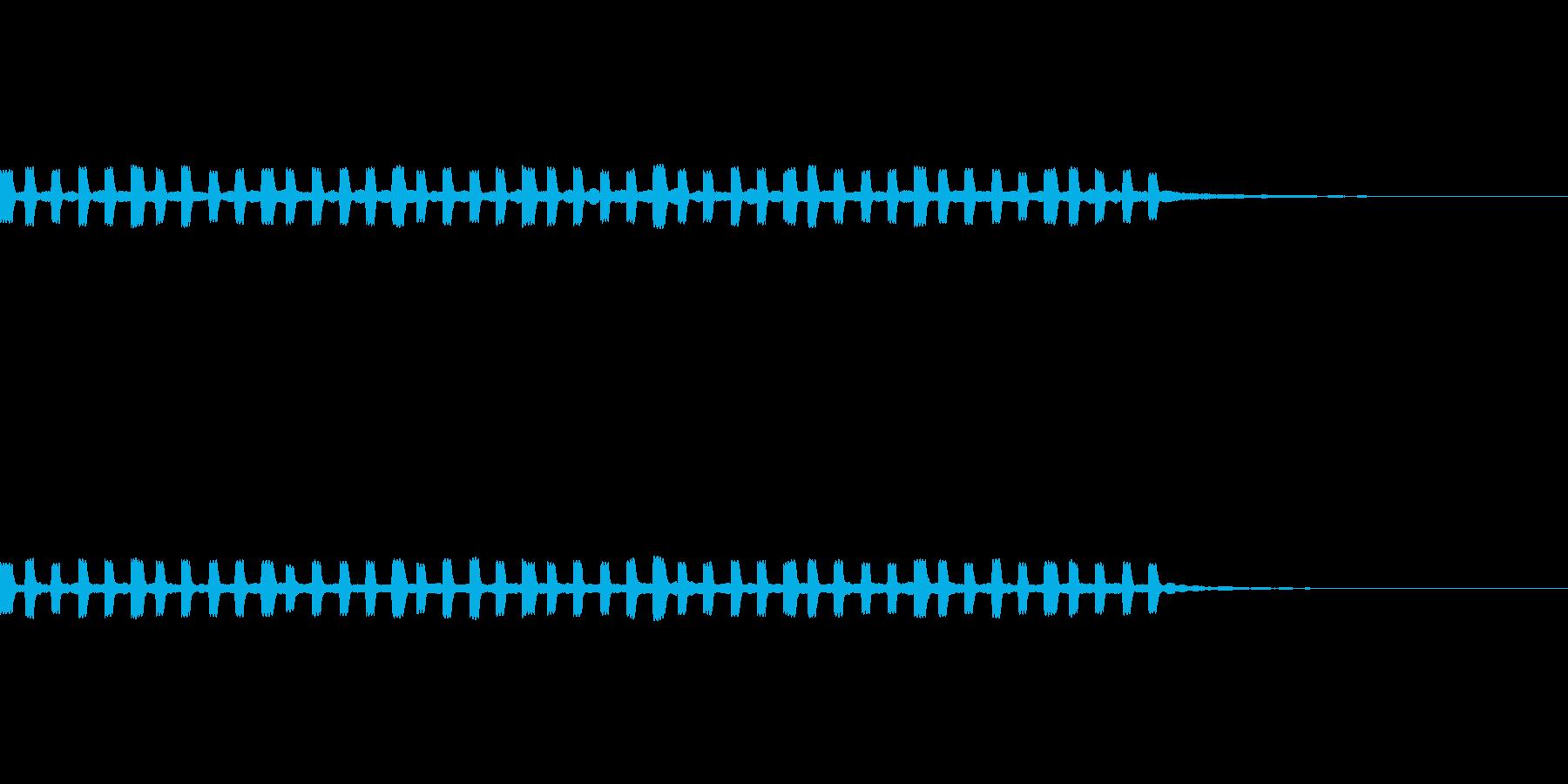 グラフ 折れ線グラフ の再生済みの波形