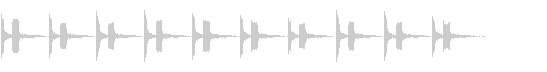 横断歩道 誘導音-2_カッコー_revの未再生の波形