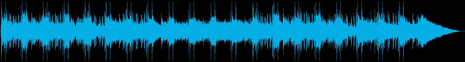 あくびが出そうな脱力音楽の再生済みの波形