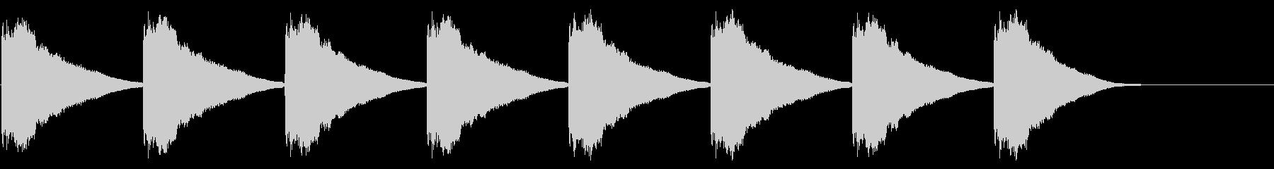 教会の鐘-7-3_delayの未再生の波形