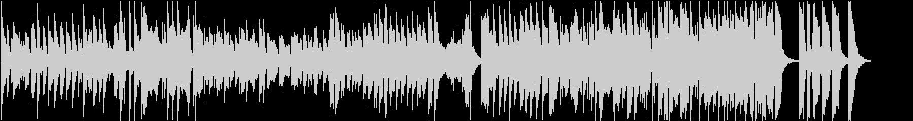 「英雄ポロネーズ」後半部分(ホール)の未再生の波形